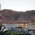 hillsides over Cuzco